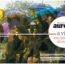 revista aurora. A Design project by Jaíne Cintra         - 16.02.2011