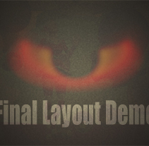 Final Layout Demo. A Motion Graphics, Film, Video, TV, and 3D project by Pedro Martínez         - 24.02.2011