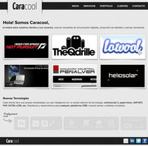 Nuevo Caracool.net. A Design, Software Development, and UI / UX project by Caracool  - Mar 12 2011 11:37 AM