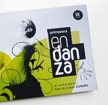 Primavera en Danza 2011. A Design, Illustration, Advertising, and Photograph project by Gende Estudio         - 24.03.2011