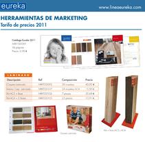 tarifa de precios marketing. Un proyecto de Diseño y Fotografía de Helena Bedia Burgos         - 30.03.2011