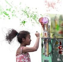 niña en versalles. Un proyecto de Diseño e Ilustración de chema benitez de sande         - 09.04.2011