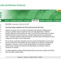 Radio Taíno web sección. Un proyecto de Diseño, Ilustración, Publicidad, Motion Graphics, Desarrollo de software, Fotografía e Informática de Eduardo A. González         - 11.04.2011