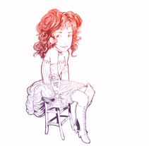 Steam girl. Um projeto de Design e Ilustração de Dario Enriquez         - 01.05.2011