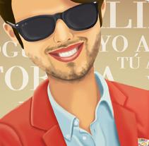 Retrato moda. A Illustration project by Natalia Rey - Apr 29 2011 10:59 AM