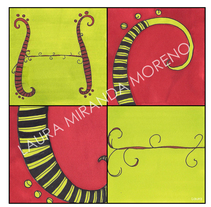 Creación de letra. Un proyecto de Ilustración de laura miranda mroeno         - 14.05.2011