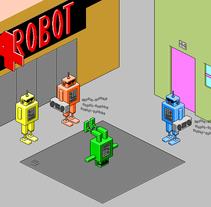 Pixel-Art. Un proyecto de Diseño e Ilustración de Mariano Rodríguez         - 25.05.2011