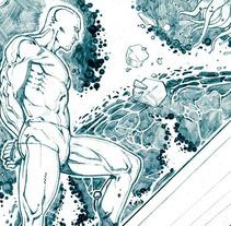 Paginas Marvel. Un proyecto de Ilustración de Coello Soria - Jueves, 02 de junio de 2011 14:05:27 +0200