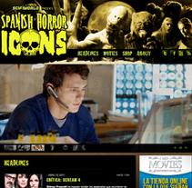 Spanish Horror Icons (Spain). Um projeto de Design, Instalações, UI / UX e Informática de Cesar Daniel Hernández         - 29.06.2011