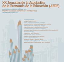 XX Jornadas Economía de la Educación. A Design project by Antonio Morillas Peláez         - 30.06.2011