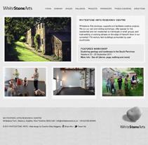 WhiteStoneArts. Un proyecto de Diseño y Desarrollo de software de Caroline Elisa Haggerty         - 07.07.2011