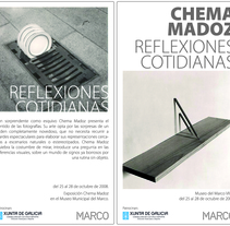 Flyer _ Chema madoz. A Design, Advertising, and Photograph project by David  - 11-07-2011