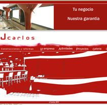 Pagina web. A Design project by Marcos Silva         - 12.07.2011