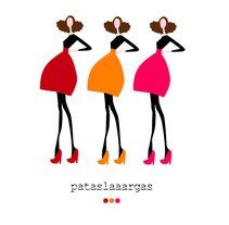 Ilustración: Pataslargas. Um projeto de Design de Xiomara Ariza Bautista         - 13.07.2011