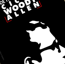 Woody Allen - Poster. A Design project by Fernando Carvantes         - 13.07.2011