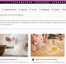 Romero & Juliana. Un proyecto de Diseño, Publicidad, Desarrollo de software, Fotografía y UI / UX de Oscar Carbajo Fernández         - 05.08.2011