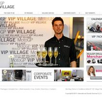 Vip Village - Moto GP. A Design, Advertising, Installations, and UI / UX project by Montse Álvarez         - 12.08.2011