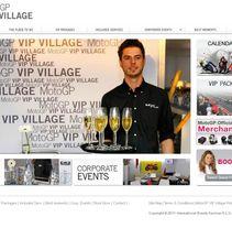 Vip Village - Moto GP. Un proyecto de Diseño, Publicidad, Instalaciones y UI / UX de Montse Álvarez         - 12.08.2011