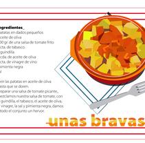 Unas bravas. A Illustration project by adriana carcelen         - 19.08.2011