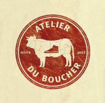 Atelier du Boucher. A Design&Illustration project by Oze Tajada - 14-09-2011