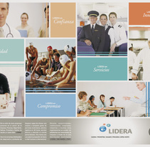 Lidera. A Design, and Advertising project by Luis Moreno  - 20-09-2011