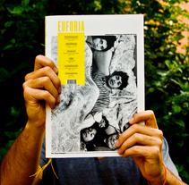 EUFORIA Independent Economic Magazine. Un proyecto de Diseño de Sara Martínez         - 26.09.2011