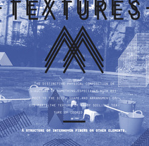 TEXTURES. A Design project by Marisa Piñana         - 05.10.2011