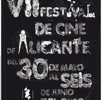 VII Festival de cine Alicante. A Illustration project by Claudia  - 17-10-2011