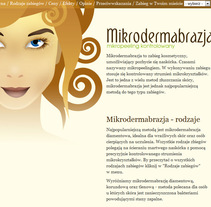 Microdermabrasion. A Design, Illustration&IT project by Kinga  - 25-10-2011
