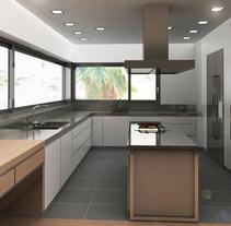 Infografía 3D Cocina. Un proyecto de Diseño, Instalaciones y 3D de Luis Dedalo - 06-11-2011