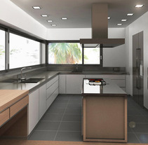 Infografía 3D Cocina. A Design, Installations, and 3D project by Luis Dedalo - 06-11-2011