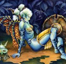 COLOR. Um projeto de Ilustração de Raquel Burgueño Sepúlveda - 06-11-2011