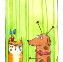 ilustración. A  project by Xènia Pla Ros         - 10.11.2011