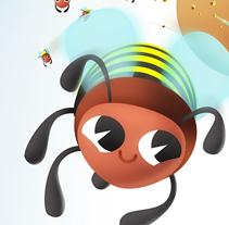 ¡Mójate por los insectos de los Humedales!. A Illustration project by Dumaker Martín Navas - 10-12-2011