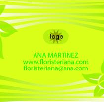 Tarjetas visita 8,5 x 5,5 cm . A Design, Illustration, Motion Graphics, Installations, and Photograph project by Doina Catruna         - 11.12.2011