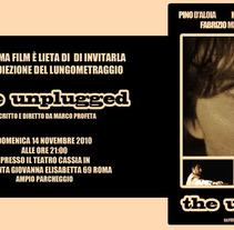 Cartelera película italiana. Um projeto de Design e Ilustração de Tamara Pintado / Alessandro Masi         - 14.12.2011