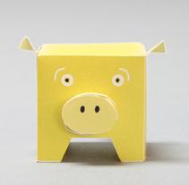 The Golden Pig Project. Un proyecto de Diseño, Ilustración, Publicidad, Motion Graphics, Cine, vídeo y televisión de Omar Lopez Sanchez         - 09.01.2012