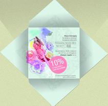 Invitación plegable. A Design project by ana gonzalez sanchez - Jan 12 2012 11:01 AM