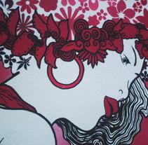 Goddess of nature. Un proyecto de Diseño, Ilustración, Publicidad, Instalaciones, Desarrollo de software, Fotografía, UI / UX y 3D de Fran García Hidalgo  - 06-02-2012