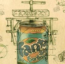 Fanta. Un proyecto de Publicidad de Falansh MODUS - Lunes, 06 de febrero de 2012 17:32:30 +0100
