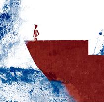 CARMELO Y EL MAR. Um projeto de Ilustração de Helena Basagañas         - 23.02.2012