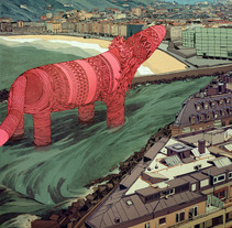 Festival (Cartel). A Design, Illustration, and Advertising project by jon  juarez gaztelu - Nov 15 2013 12:00 AM