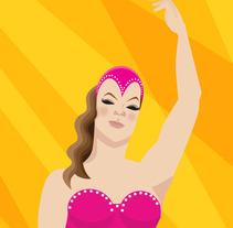 Ilustración Circo. A  project by MARCELO FARAY         - 18.03.2012