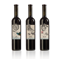 Packaging de vinos. A Design, Illustration, and 3D project by yesika aguin gomez - 03.26.2012