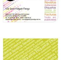 Tarjetas de presentación. A Design project by Estefania Camacho Villarreal         - 28.03.2012