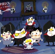 vampirock, rockula y rúcula. A Design, Illustration, Film, Video, and TV project by yanina tiribelli         - 03.04.2012