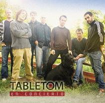 Cartelería TABLETOM. A Design, Illustration, Advertising, Music, Audio, and Photograph project by Lalâau Comunicación         - 10.04.2012