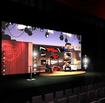 Diseño escenografía Premios Ciudad de Móstoles. Un proyecto de  de Alvaro Portela Martínez - Jueves, 12 de abril de 2012 10:39:33 +0200