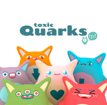 toxic quarks. A Design, Illustration, and 3D project by Vicenç Lletí Alarte         - 19.04.2012