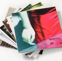 Art direction and layout Nochemania Magazines. A Design, and Advertising project by Marina L. Rodil Garamond         - 22.04.2012